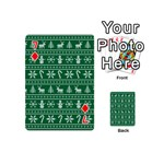Ugly Christmas Playing Cards 54 (Mini)  Front - Diamond7