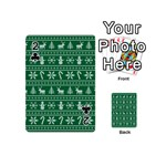 Ugly Christmas Playing Cards 54 (Mini)  Front - Club2