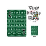 Ugly Christmas Playing Cards 54 (Mini)  Front - Spade6