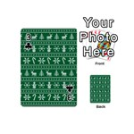 Ugly Christmas Playing Cards 54 (Mini)  Front - Club3