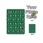 Ugly Christmas Playing Cards 54 (Mini)  Front - Club4