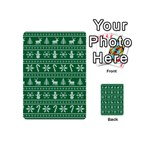 Ugly Christmas Playing Cards 54 (Mini)  Back