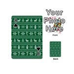 Ugly Christmas Playing Cards 54 (Mini)  Front - Spade8