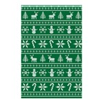 Ugly Christmas Shower Curtain 48  x 72  (Small)  48 x72 Curtain