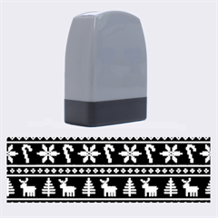Ugly Christmas Name Stamps