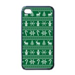 Ugly Christmas Apple iPhone 4 Case (Black) Front