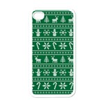 Ugly Christmas Apple iPhone 4 Case (White) Front