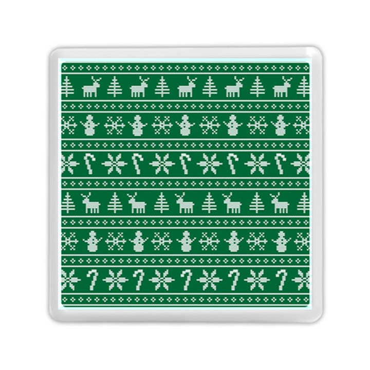 Ugly Christmas Memory Card Reader (Square)