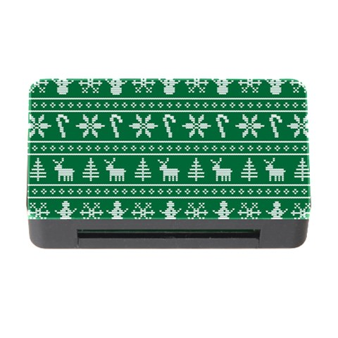 Ugly Christmas Memory Card Reader with CF