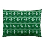 Ugly Christmas Pillow Case (Two Sides) Back