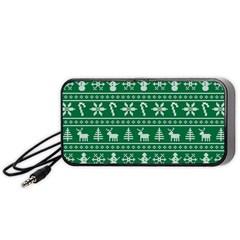 Ugly Christmas Portable Speaker (black)