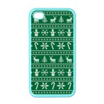Ugly Christmas Apple iPhone 4 Case (Color) Front