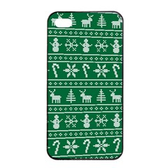 Ugly Christmas Apple Iphone 4/4s Seamless Case (black)