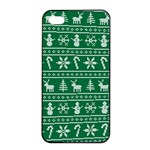 Ugly Christmas Apple iPhone 4/4s Seamless Case (Black) Front