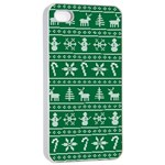 Ugly Christmas Apple iPhone 4/4s Seamless Case (White) Front