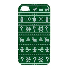 Ugly Christmas Apple iPhone 4/4S Hardshell Case