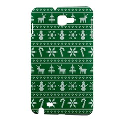 Ugly Christmas Samsung Galaxy Note 1 Hardshell Case