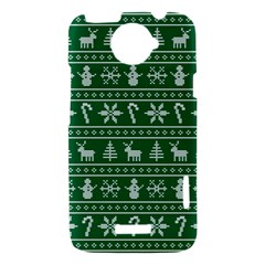 Ugly Christmas HTC One X Hardshell Case
