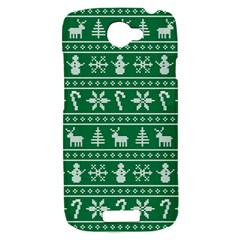 Ugly Christmas HTC One S Hardshell Case