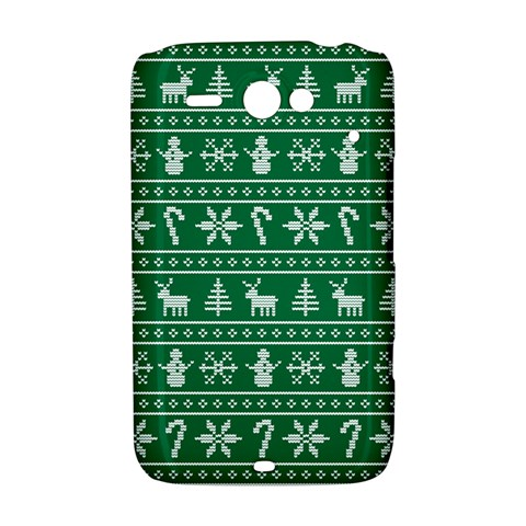 Ugly Christmas HTC ChaCha / HTC Status Hardshell Case