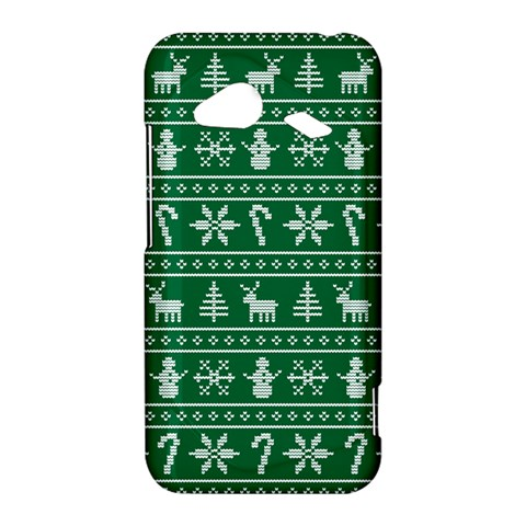 Ugly Christmas HTC Droid Incredible 4G LTE Hardshell Case