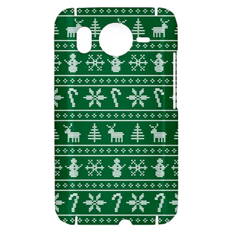 Ugly Christmas HTC Desire HD Hardshell Case