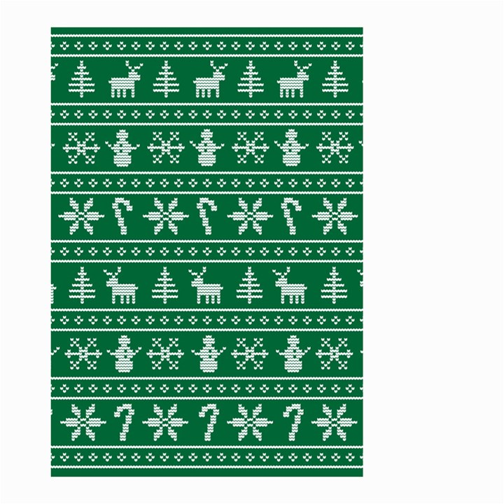 Ugly Christmas Small Garden Flag (Two Sides)