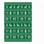 Ugly Christmas Small Garden Flag (Two Sides) Back