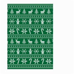 Ugly Christmas Large Garden Flag (Two Sides)