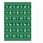 Ugly Christmas Large Garden Flag (Two Sides) Back