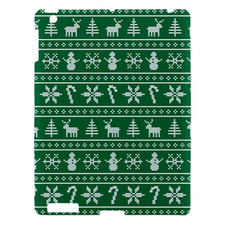 Ugly Christmas Apple iPad 3/4 Hardshell Case