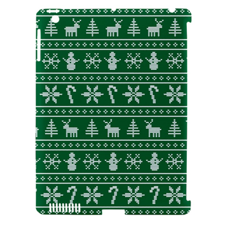 Ugly Christmas Apple iPad 3/4 Hardshell Case (Compatible with Smart Cover)
