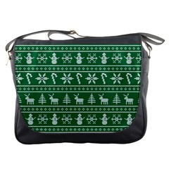 Ugly Christmas Messenger Bags