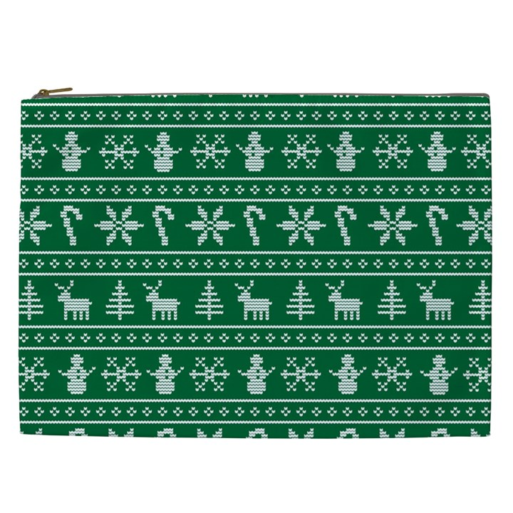 Ugly Christmas Cosmetic Bag (XXL)