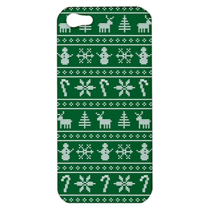 Ugly Christmas Apple iPhone 5 Hardshell Case