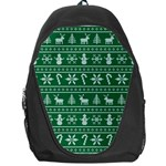 Ugly Christmas Backpack Bag Front