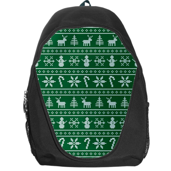 Ugly Christmas Backpack Bag