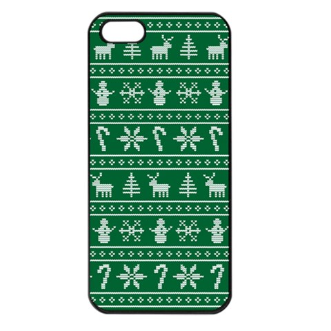 Ugly Christmas Apple iPhone 5 Seamless Case (Black)