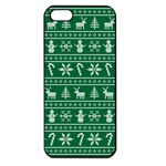 Ugly Christmas Apple iPhone 5 Seamless Case (Black) Front