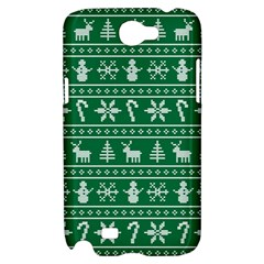 Ugly Christmas Samsung Galaxy Note 2 Hardshell Case
