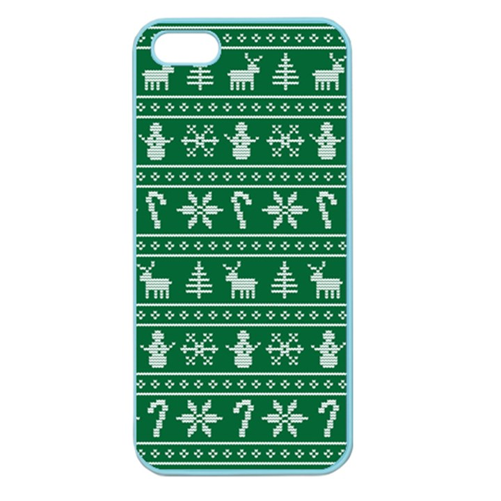 Ugly Christmas Apple Seamless iPhone 5 Case (Color)