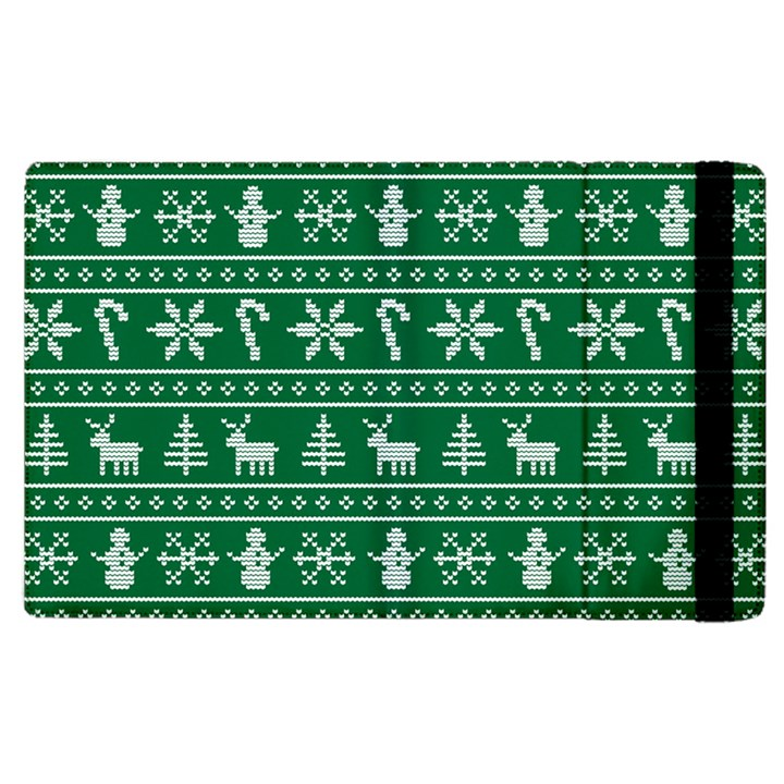 Ugly Christmas Apple iPad 3/4 Flip Case