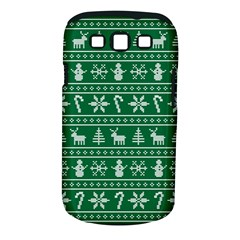 Ugly Christmas Samsung Galaxy S III Classic Hardshell Case (PC+Silicone)