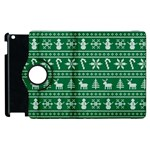 Ugly Christmas Apple iPad 2 Flip 360 Case Front