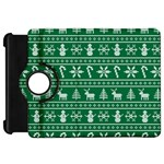 Ugly Christmas Kindle Fire HD Flip 360 Case Front