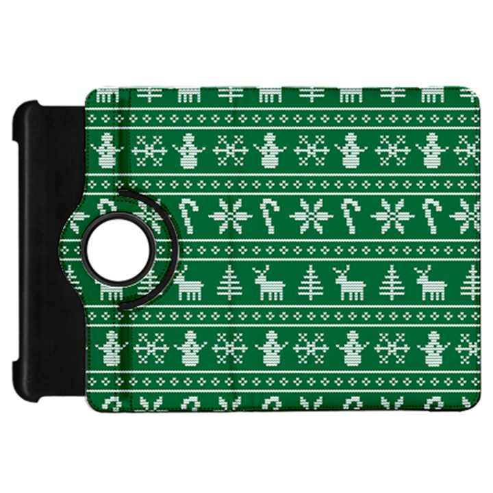 Ugly Christmas Kindle Fire HD Flip 360 Case