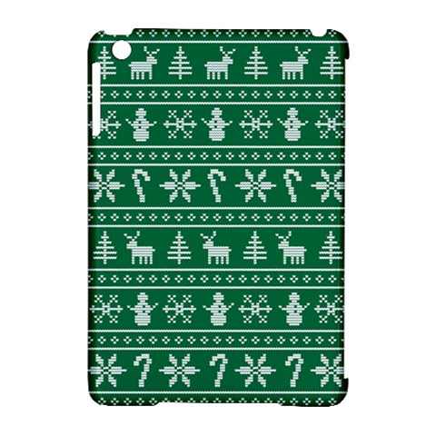 Ugly Christmas Apple iPad Mini Hardshell Case (Compatible with Smart Cover)