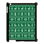 Ugly Christmas Apple iPad 3/4 Case (Black) Front