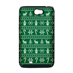 Ugly Christmas Samsung Galaxy Note 2 Hardshell Case (PC+Silicone)