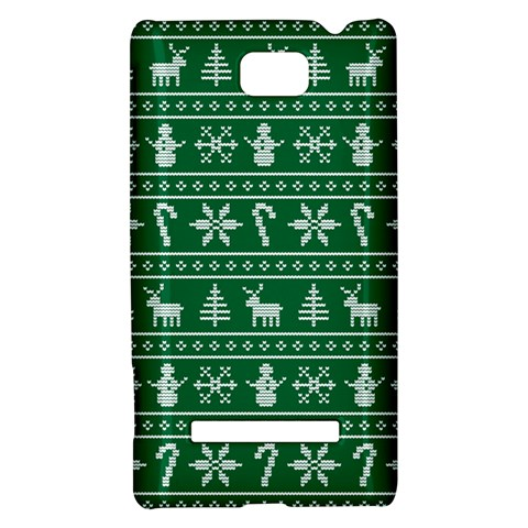 Ugly Christmas HTC 8S Hardshell Case